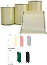 Kranzband - Satin farbig