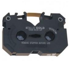Farbband Kassette Gold/Silber (wiederbefüllt)
