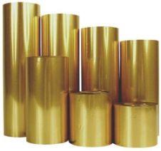 Prägefolie gold für ERCO Maschinen