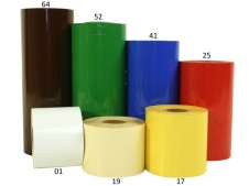Prägefolie farbig