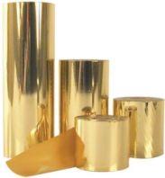 Druck-Folie gold/silber (hochglänzend) für ATLAS und Moiré Band